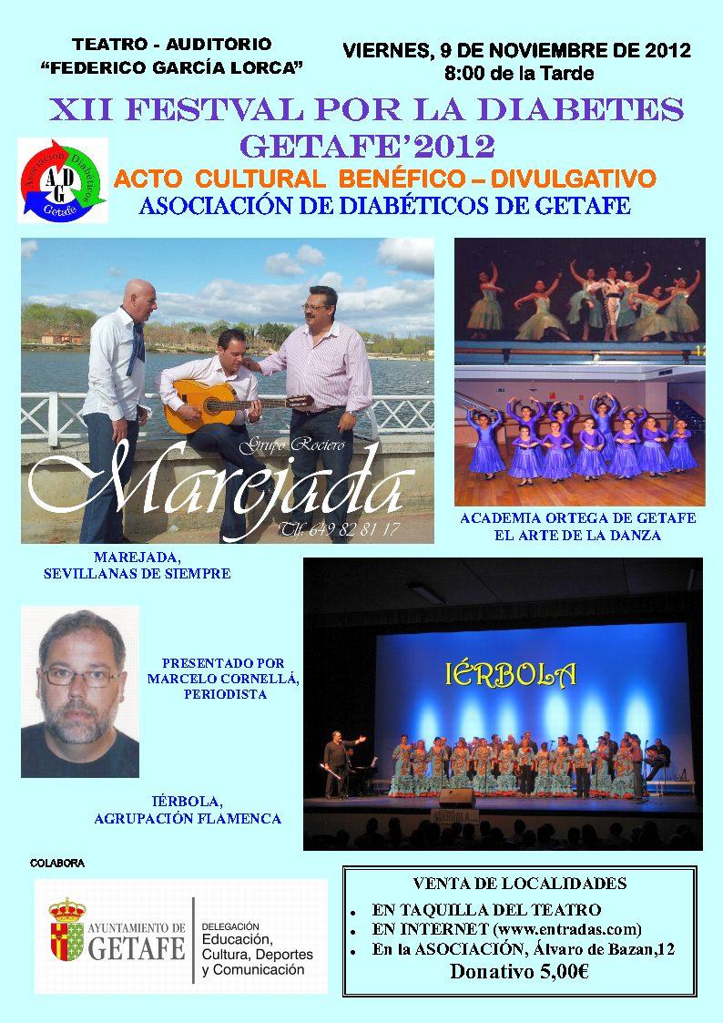 XII Festival por la Diabetes GETAFE'2012
