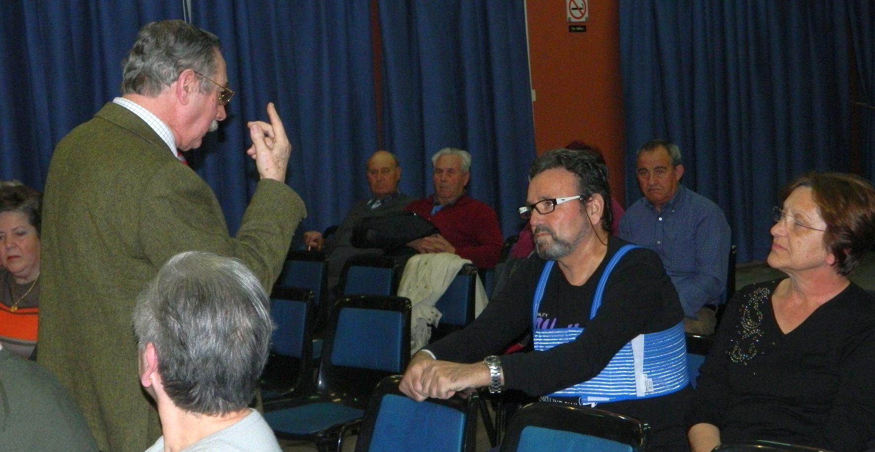 El 14 y 15 de febrero en el Centro Cívico de El Bercial, celebramos una charla-coloquio con el título: ¿Conocemos la Diabetes?