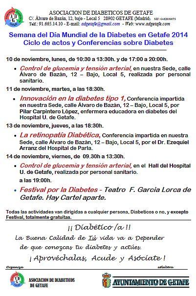 Semana de la Diabetes en Getafe