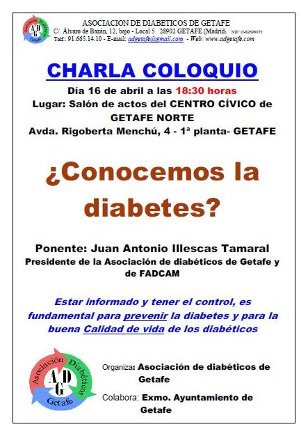 ¿Conocemos la diabetes?